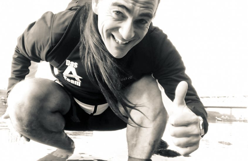 Barfuß über 42,195 Kilometer: Marathonläufer Alex Kiesow