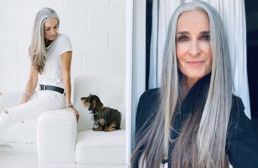 Graue Haare: mit Stolz tragen wie Caroline oder färben?